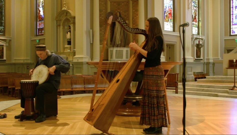 Latin Harp Music